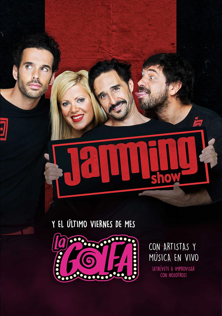 Cartel de Jamming Show